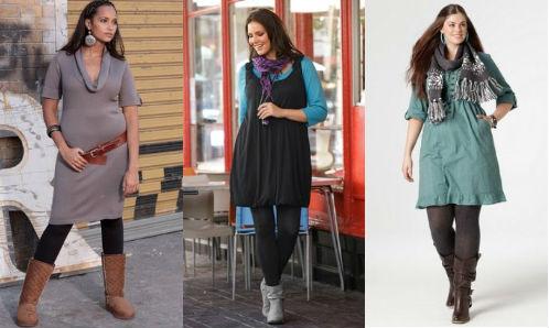фасоны платьев для полных 2012