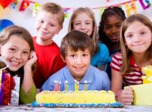 где отпраздновать детский день рождения
