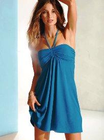 как сшить простое пляжное платье