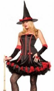 костюм ведьмы на хэллоуин