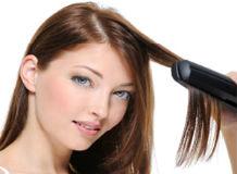 как выпрямить и завить волосы утюжком
