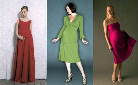 новогодние платья для беременных