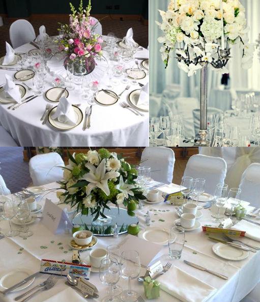 украшение праздничного свадебного стола фото