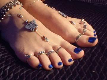 кольца на пальцах ног - индийская традиция