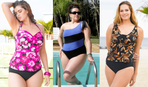купальник для полных женщин фото