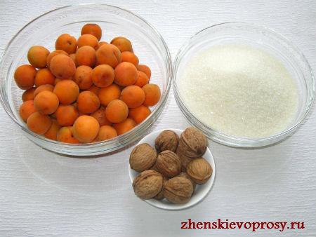абрикосовое варенье ингридиенты
