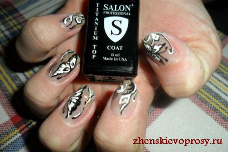 """дизайн ногтей """"Бабочки"""""""
