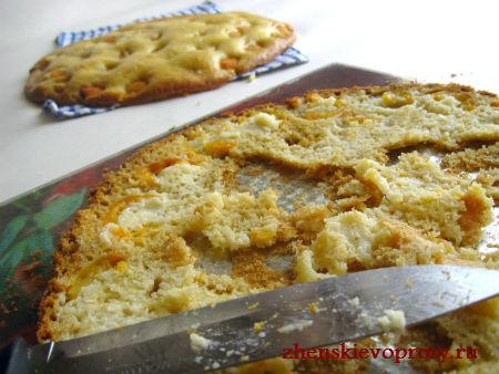 коржи для пирога из абрикосов