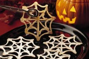"печенье на Хэллоуин ""Паутина"""