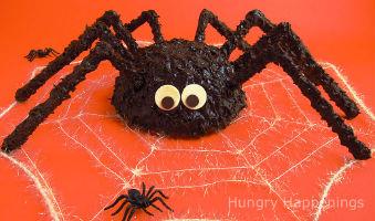 "торт на Хэллоуин ""Паук"""