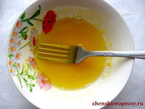 растворить желатин в апельсиновом соке