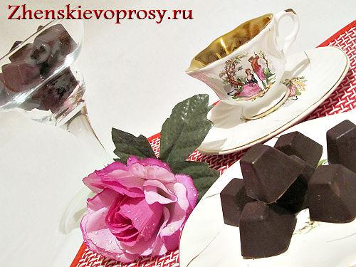 шоколадные конфеты в домашних условиях