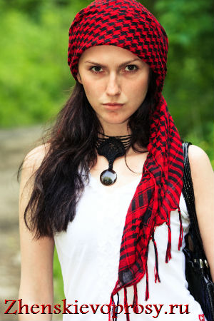 """платок на голову """"барышня-крестьянка"""""""
