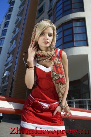 Модный платок на голову