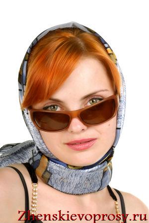 Повязываем платок на голову по-голливудски