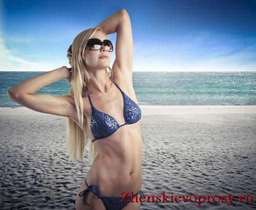 купальник-шторки для маленькой груди