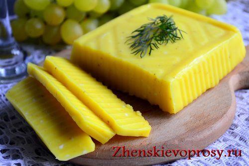 как сделать сыр с пектином