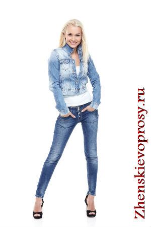 С чем носить джинсовый пиджак?
