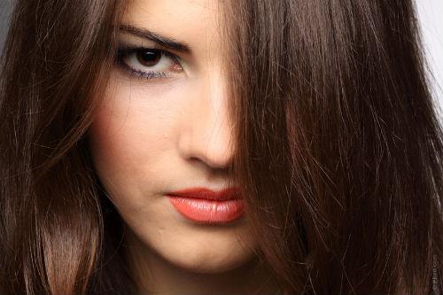 цвет волос для карих глаз
