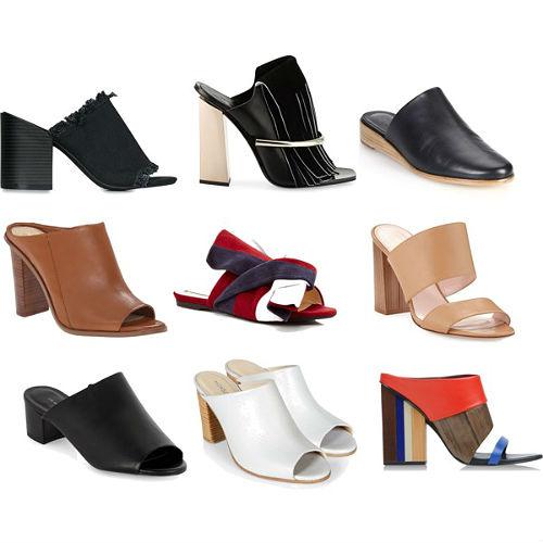 Туфли мюли рекомендации
