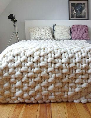 крупная нить для вязания