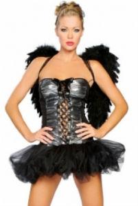 костюм ангела на хэллоуин