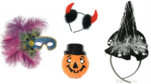 аксессуары к наряду на Хэллоуин