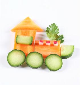 детские поделки из овощей своими руками