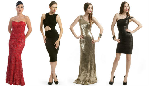 вечерние новогодние платья 2012 фото