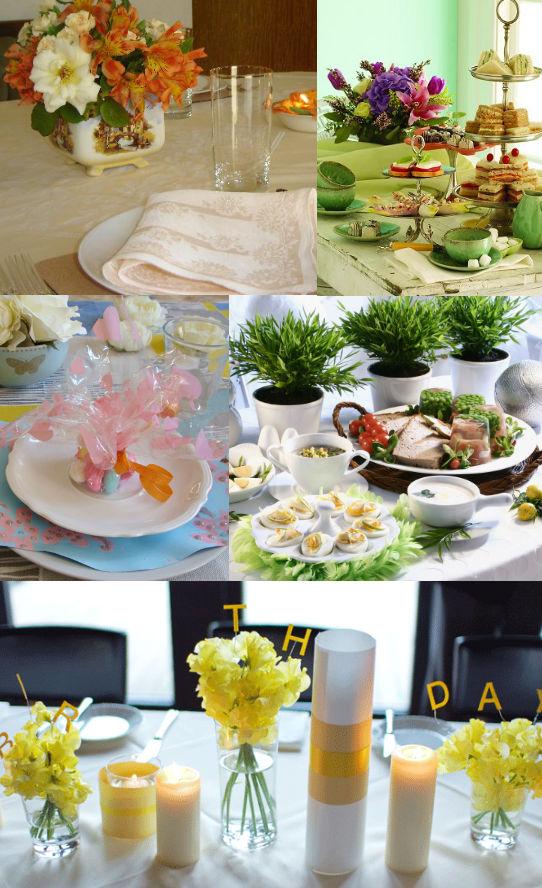 украшение праздничного стола ко дню рождения фото
