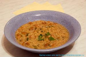 рецепт супа на Великий пост