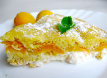 пирог из абрикосов