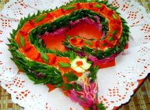салат на Новый год Змеи