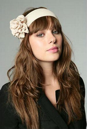 повязка на голову с цветами