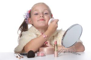 макияж для девочки на 1 сентября