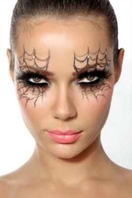 макияж Королевы пауков