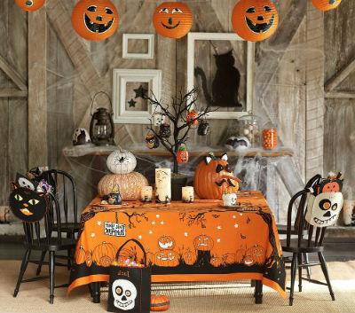 черный и оранжевый - традиционные цвета Хэллоуина