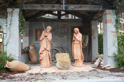 """Религиозная сцена """"После Рождества"""" (Флоренция, Италия)"""