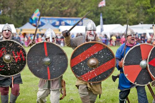 Праздник викингов в Великобритании