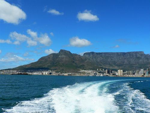 Вид на Кейптаун (ЮАР)