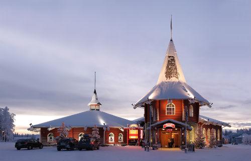 Резиденция Санты в Лапландии