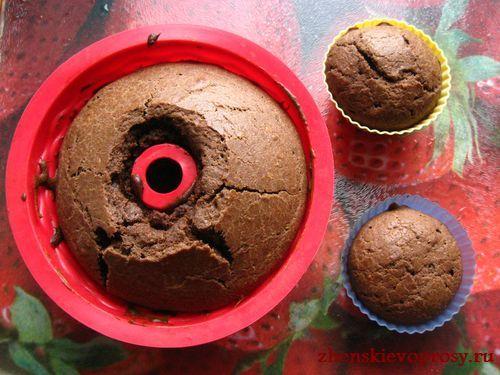 запечь кексы в духовке