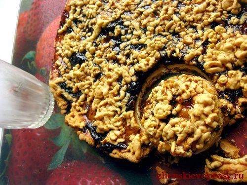 сделать печенье из пирога