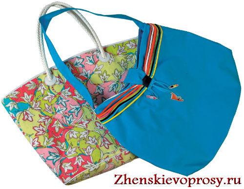 как выбрать стильную пляжную сумку