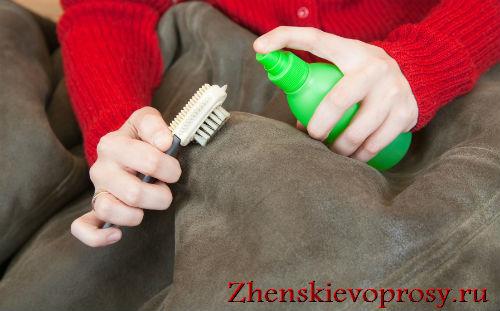 Как стирать кожаную куртку?
