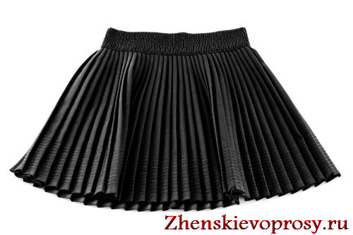 Как погладить плиссированную юбку?