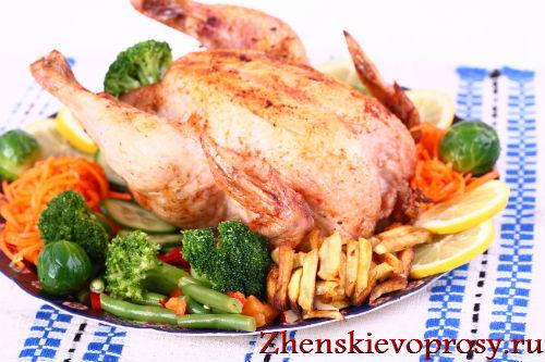 Как вкусно приготовить курицу?