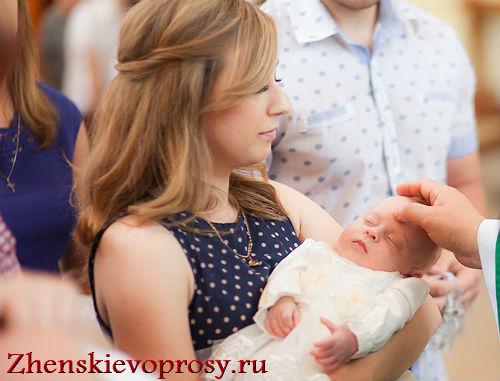 Как выбрать крестных для ребенка?