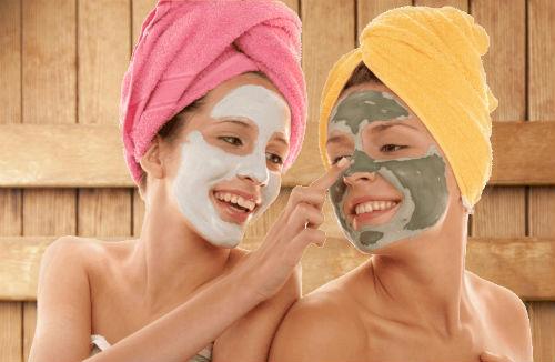Как чистить лицо в бане