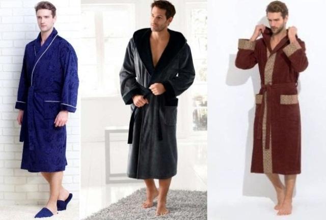 халат для мужчин